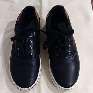 Levi's Black/Tan Levis Sneakers Size 2.5